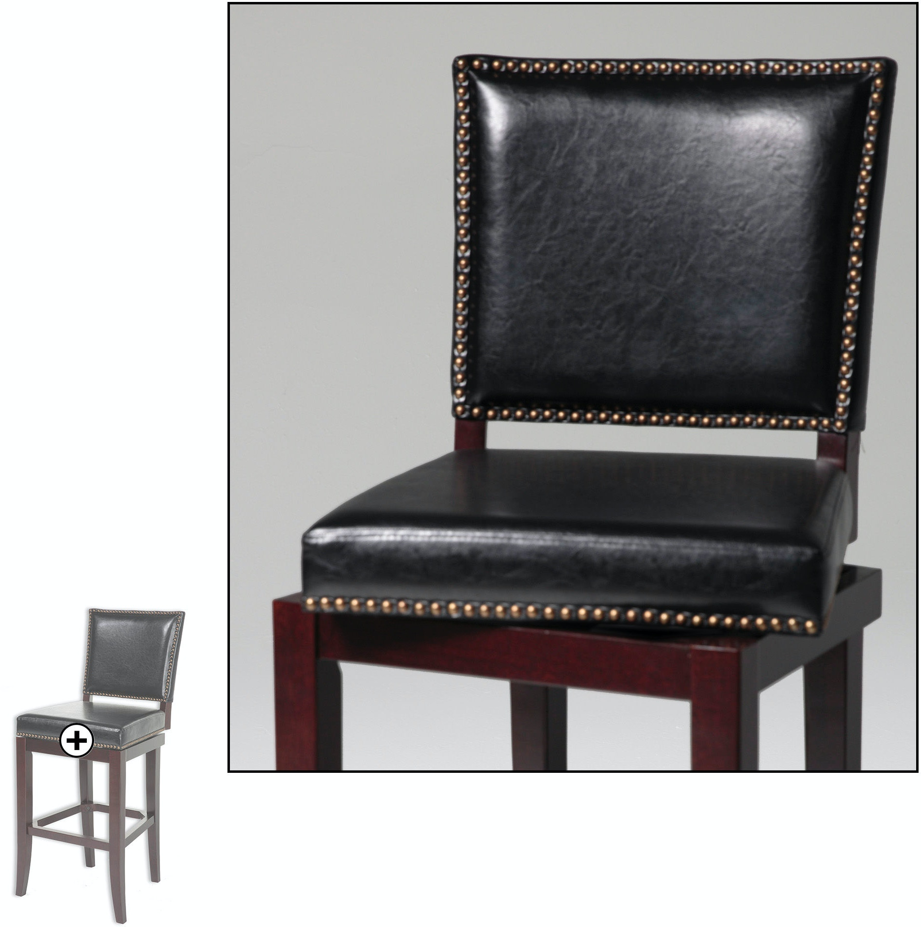 Fashion Bed Group Bar And Game Room Sacramento Swivel Seat Counter