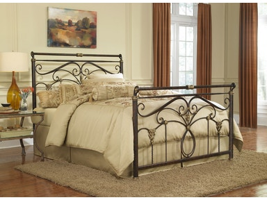 Fashion Bed Group Bedroom Lucinda 5/0 Queen Bed