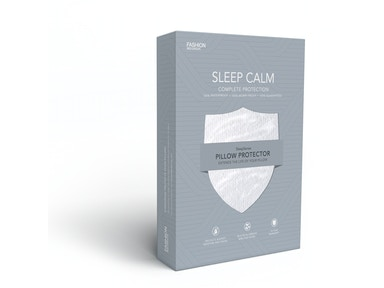 Fashion Bed Group Sleep Calm Pillow Protector with Stain and Dust Mite Defense, Standard/Queen QD0441