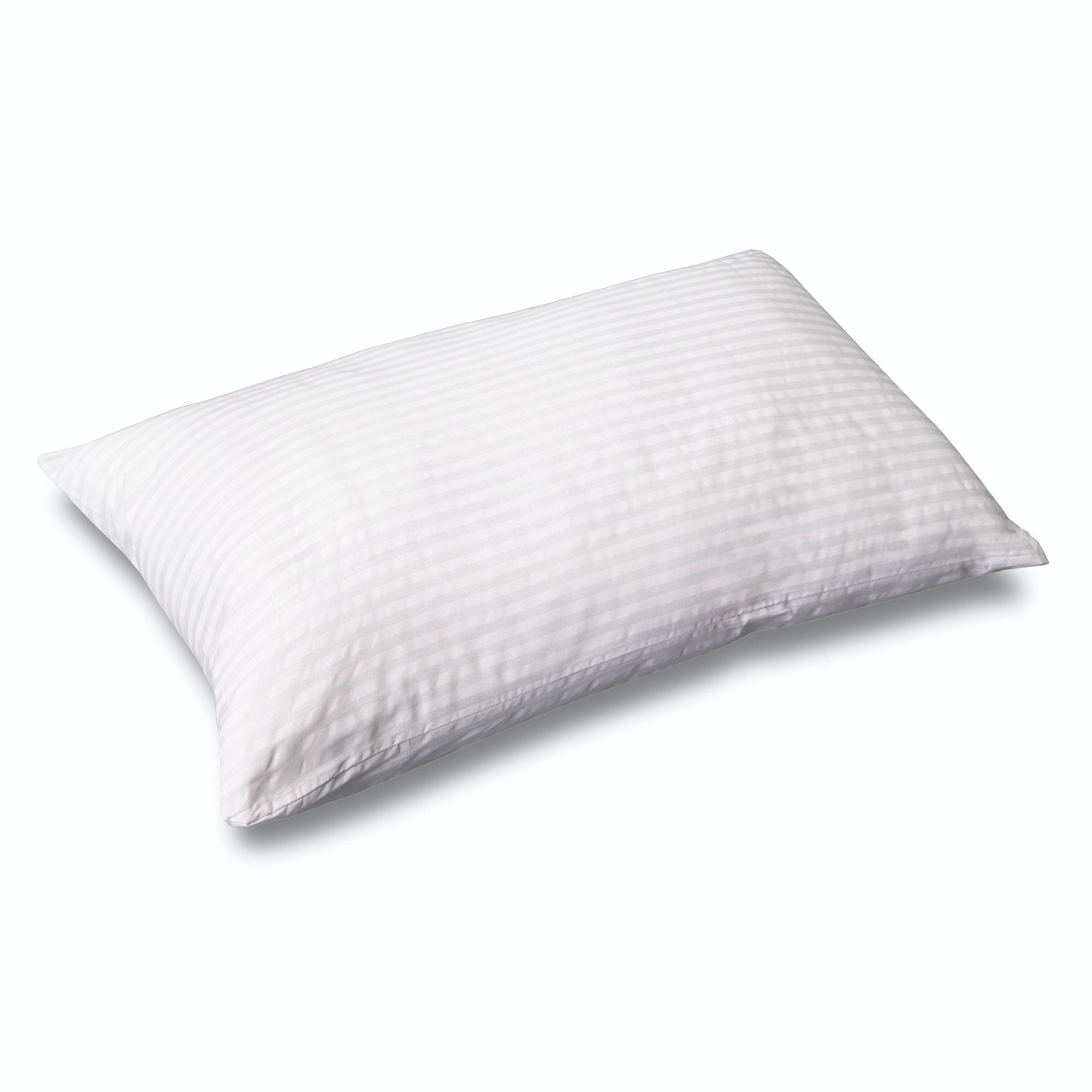 fashion bed group sleep plush advanced support microcubed latex foam pillow standard