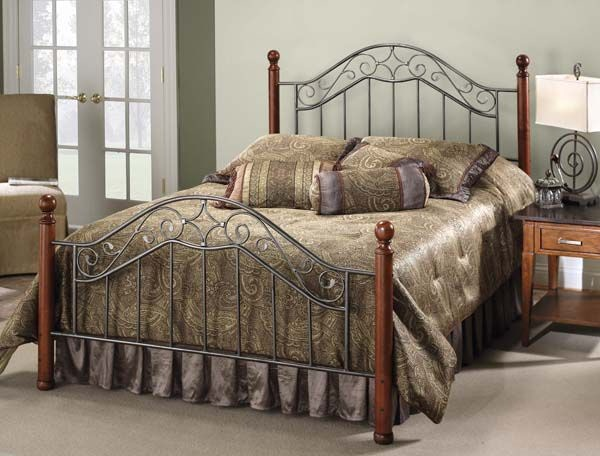 Hillsdale Furniture Bedroom Madison Bed Set King With Rails