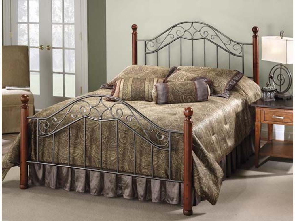 Hillsdale Furniture Bedroom Madison Bed Set King With Rails