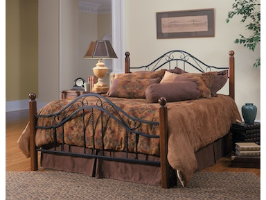 Hillsdale Furniture Madison Bed Set - Queen - with Rails 1010BQR