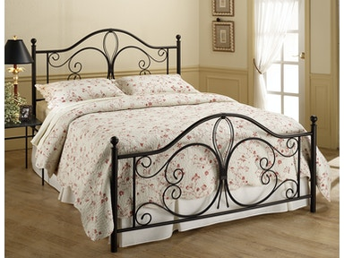 Hillsdale Furniture Milwaukee Bed Set - King - with Rails 1014BKR
