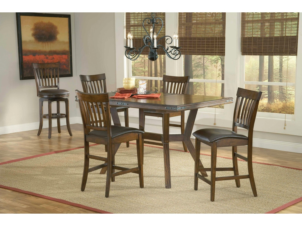 Hillsdale furniture dining room arbor hill extension for Dining room tables london