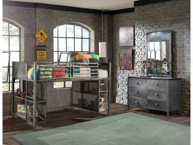 Hillsdale Furniture Urban Quarters Youth Junior Loft 1265JL