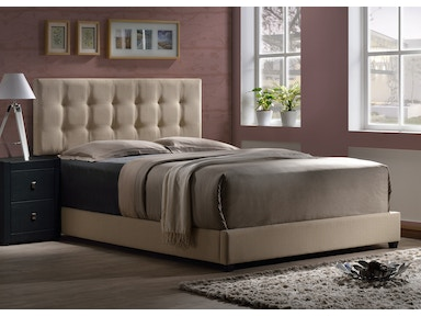 Hillsdale Furniture Duggan Bed - King - Rails Included 1284BKR