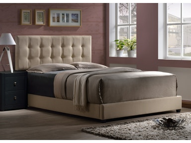 Hillsdale Furniture Duggan Bed - Queen - Rails Included 1284BQR