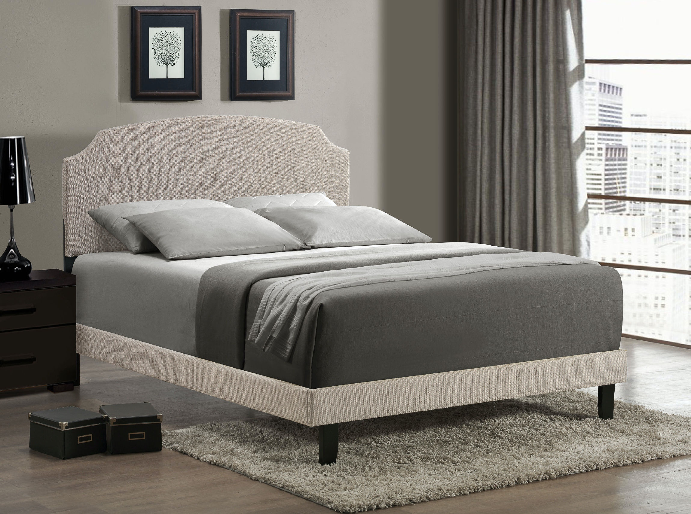 Hillsdale Furniture Bedroom Becker Footboard And Rails   King 1299 650 At Carol  House Furniture