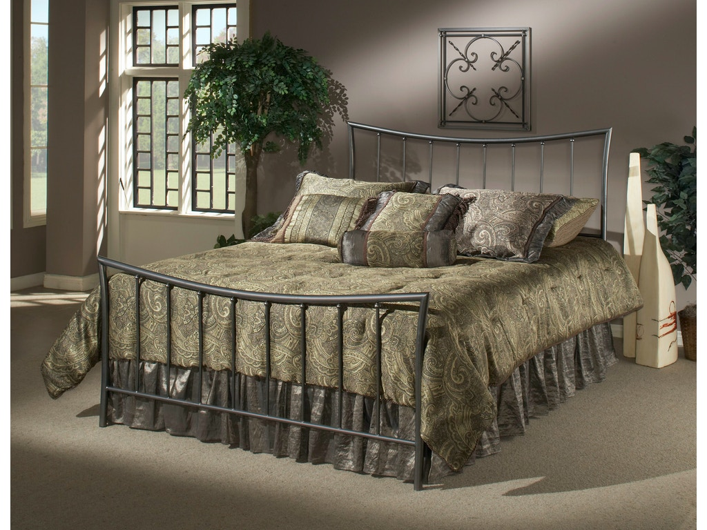 Hillsdale Furniture Bedroom Edgewood Duo Panel King 1333 670 Smith Village Home Furniture