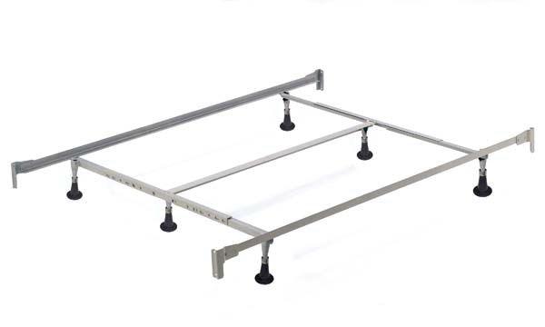 Charmant Hillsdale Furniture Mattresses 6 Leg Queen/King Bed Frame