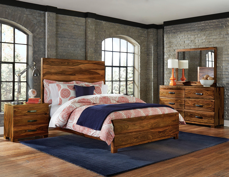 1406BKR4SET. Madera 4 Piece Bedroom Set   King