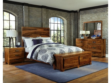 Hillsdale Furniture Madera 4-Piece Storage Platform Bedroom Set - King 1406BKRS4SET