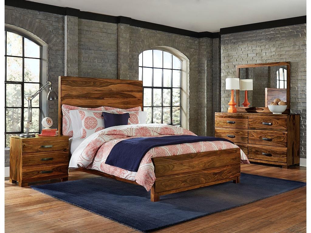 Hillsdale furniture madera 4 piece bedroom set queen for Bedroom 4 piece set