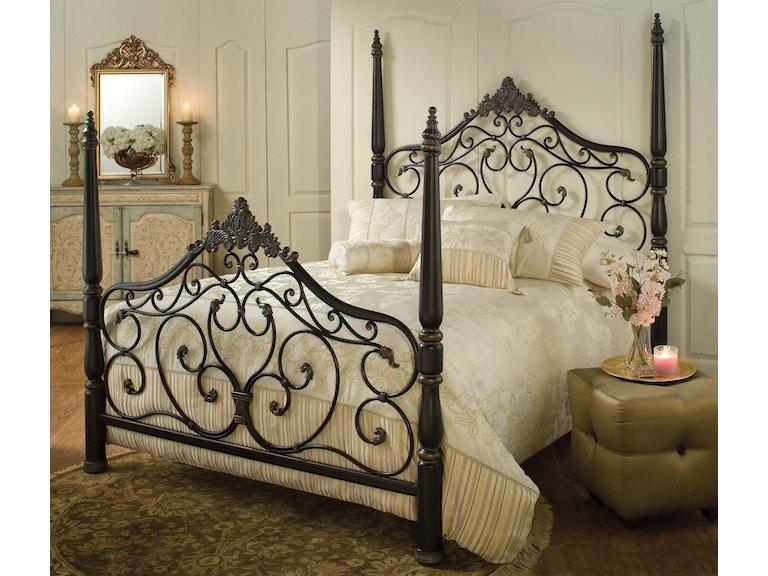 b8abd76ef925 Hillsdale Furniture Bedroom Parkwood Bed Set - King - with Rails ...