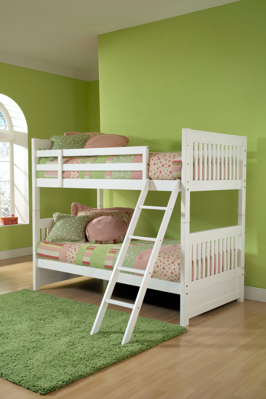 Hillsdale Furniture Bedroom Lauren Bunk Bed Twin 1528bb