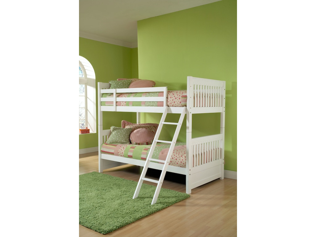 Hillsdale Furniture Youth Lauren Bunk Bed Twin 1528bb