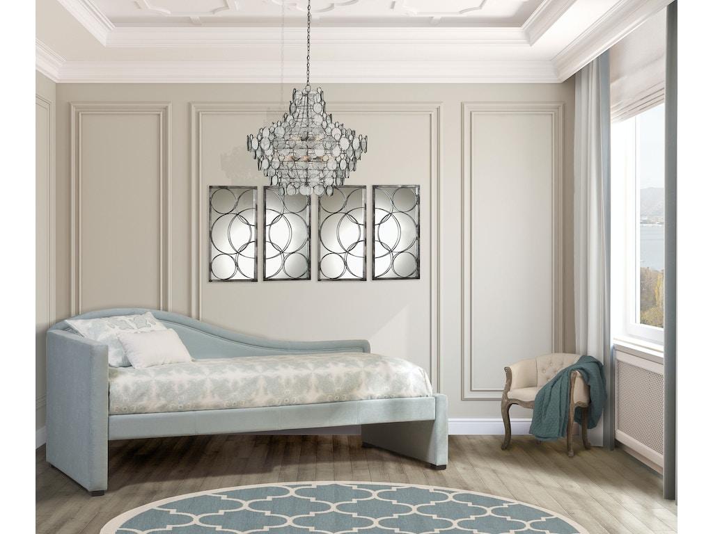 Hillsdale furniture bedroom olivia daybed 1852db hickory for Bedroom furniture hickory nc