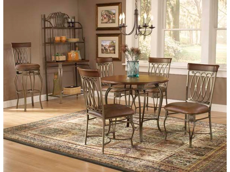 Hillsdale Furniture Dining Room Montello 36 Round Table 41541DTB36 At Mikos Matt