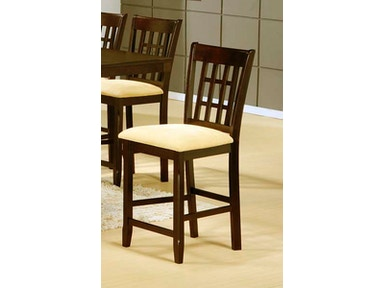 Hillsdale Furniture Tabacon Non-Swivel Counter Stool - Set of 2 4155-822YM