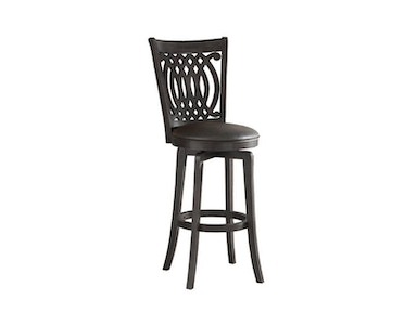 Hillsdale Furniture Van Draus Swivel Counter Stool - Flare Leg 4975-827