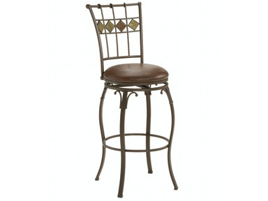 Hillsdale Furniture Lakeview Swivel Counter Stool - Slate Accent 4264-826