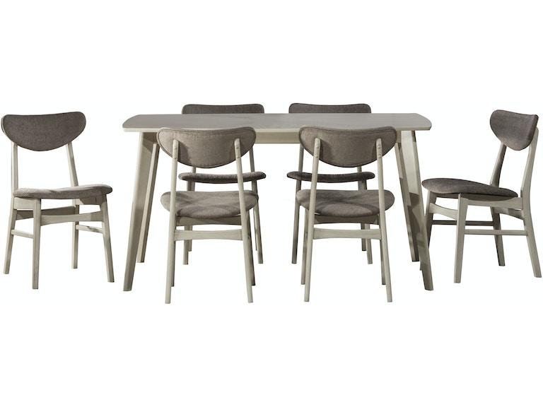 Hillsdale Furniture Bronx 7 Piece Rectangle Dining Set 4017DTBC7