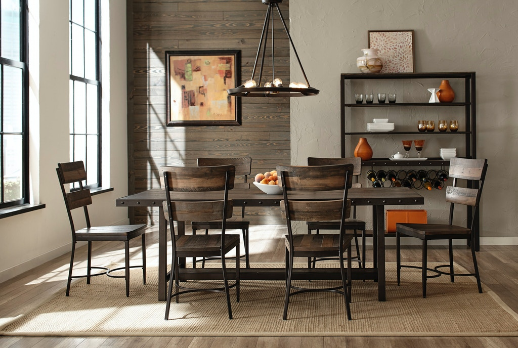 Hillsdale Furniture Dining Room Jennings 7 Piece Dining