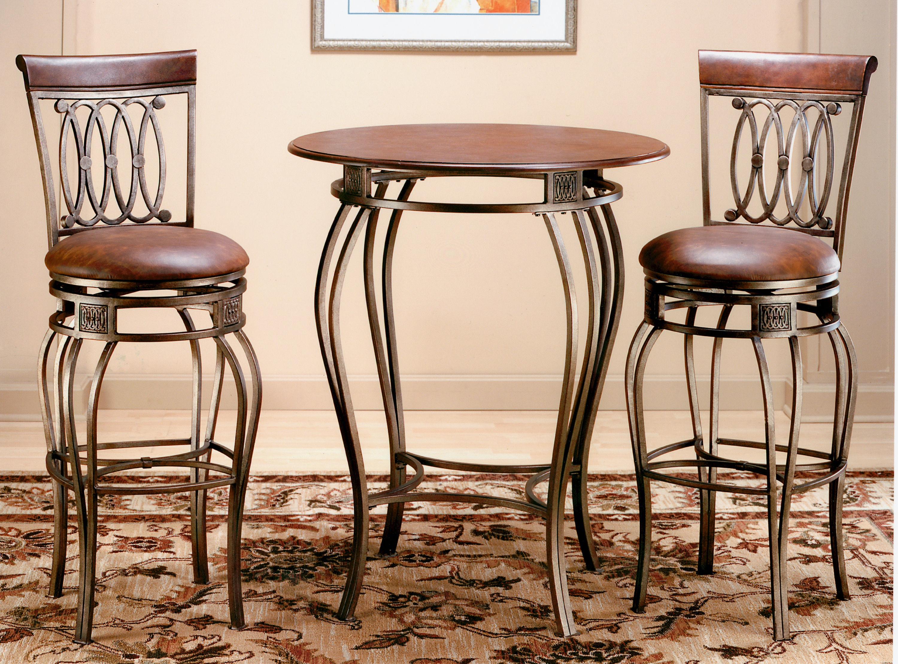 Hillsdale Furniture Bar And Game Room Montello Bistro Table 41550PTB   Daws  Home Furnishings   El Paso, TX
