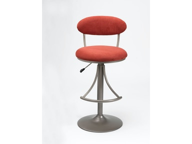 Hillsdale Furniture Venus Swivel Bar Stool with Flame Suede 4210-825H