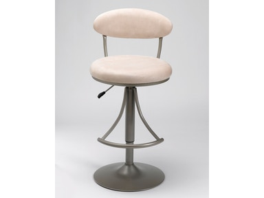 Hillsdale Furniture Venus Swivel Bar Stool with Fawn Suede 4210-827H