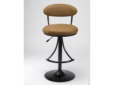 Hillsdale Furniture Venus Swivel Bar Stool - Bear Suede 4210-831H