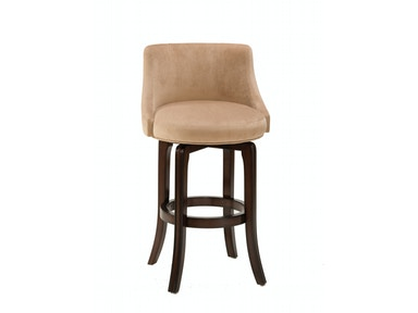 Hillsdale Furniture Napa Valley Swivel Counter Stool - Textured Khaki Fabric 4294-828I