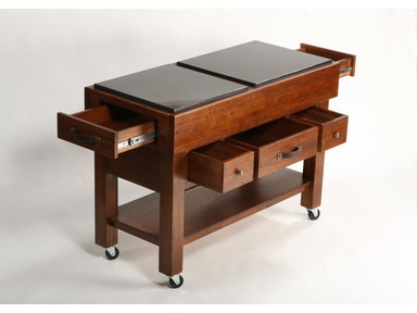 Hillsdale Furniture Outback Kitchen Island 4321-855