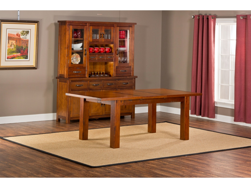 hillsdale furniture dining room outback dining table with