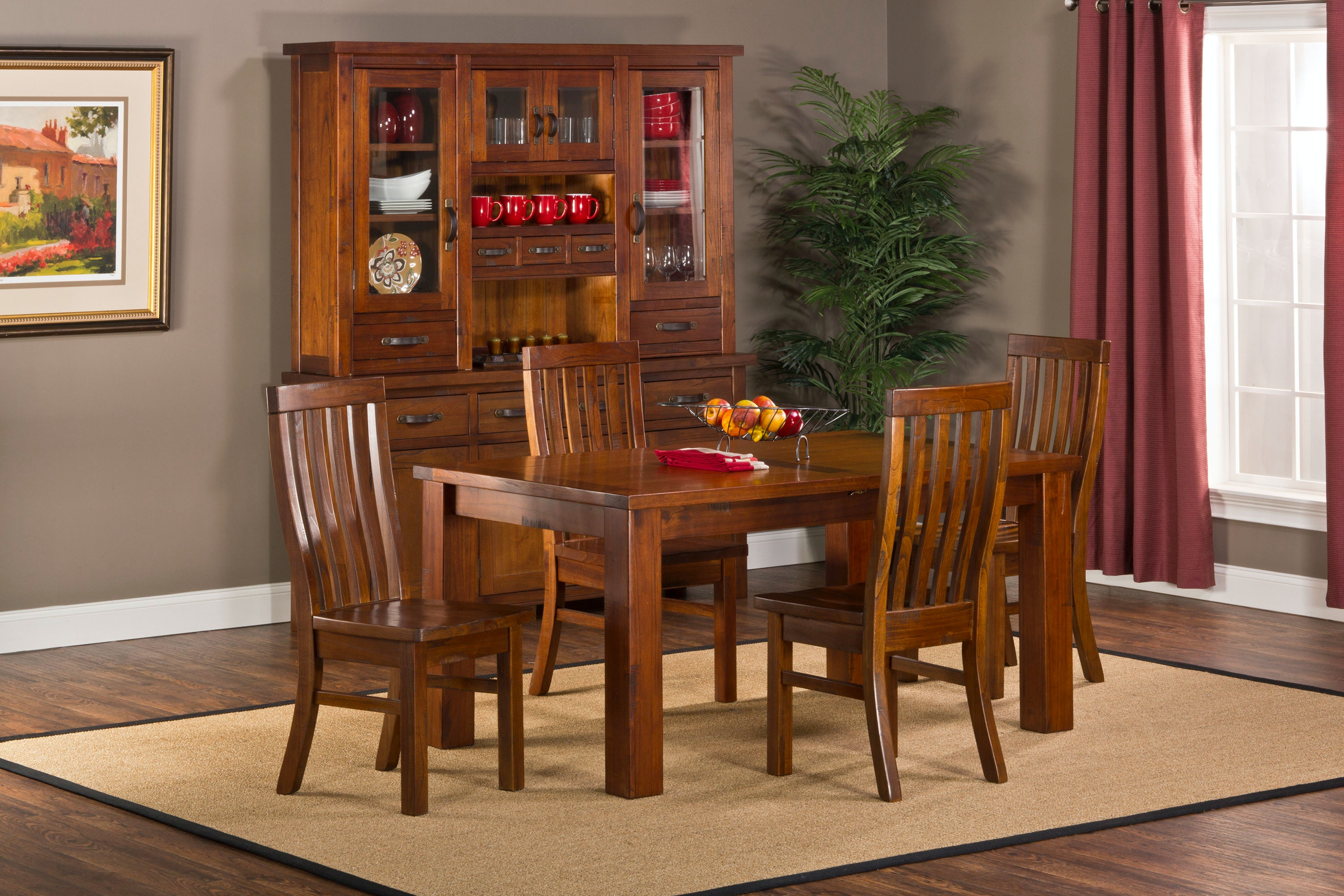Hillsdale Furniture Dining Room Outback 5pc Dining Set  : 4321dtbec from www.kemperhomefurnishings.com size 1024 x 768 jpeg 95kB