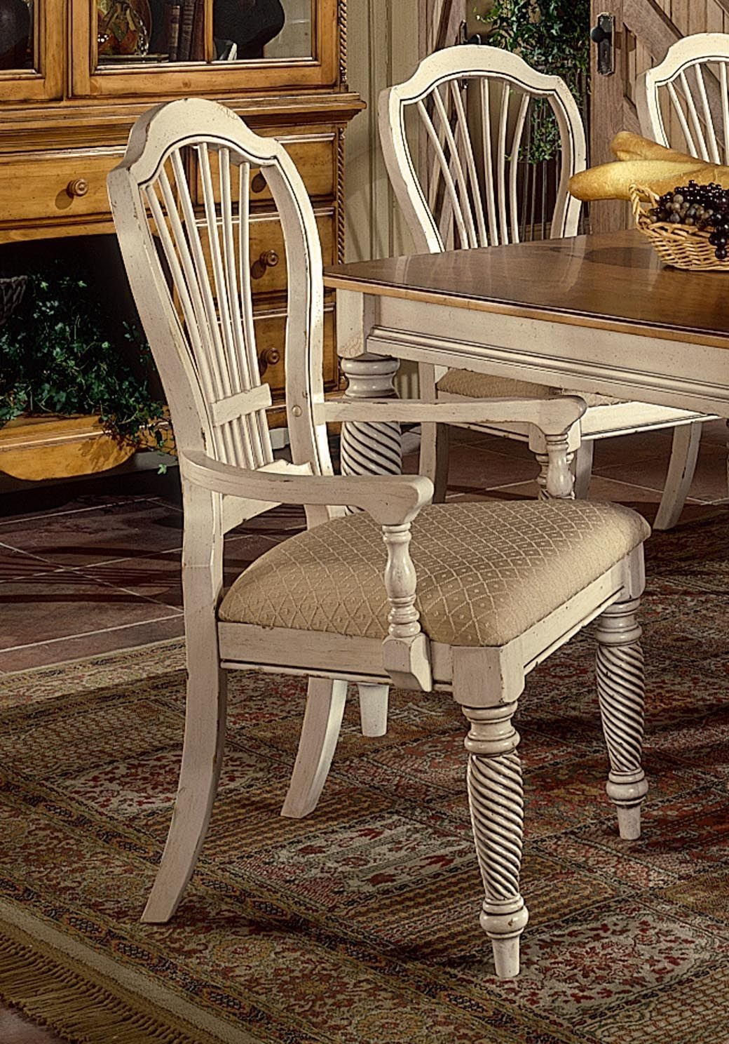 Hillsdale Furniture Wilshire Arm Chair   Set Of 2 4508 805
