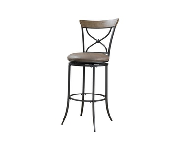 Hillsdale Furniture Charleston Swivel X-Back Counter Stool 4670-826
