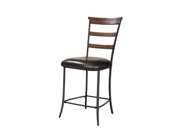 Hillsdale Furniture Cameron Ladder Back Non-Swivel Stool - Set of 2 4671-825