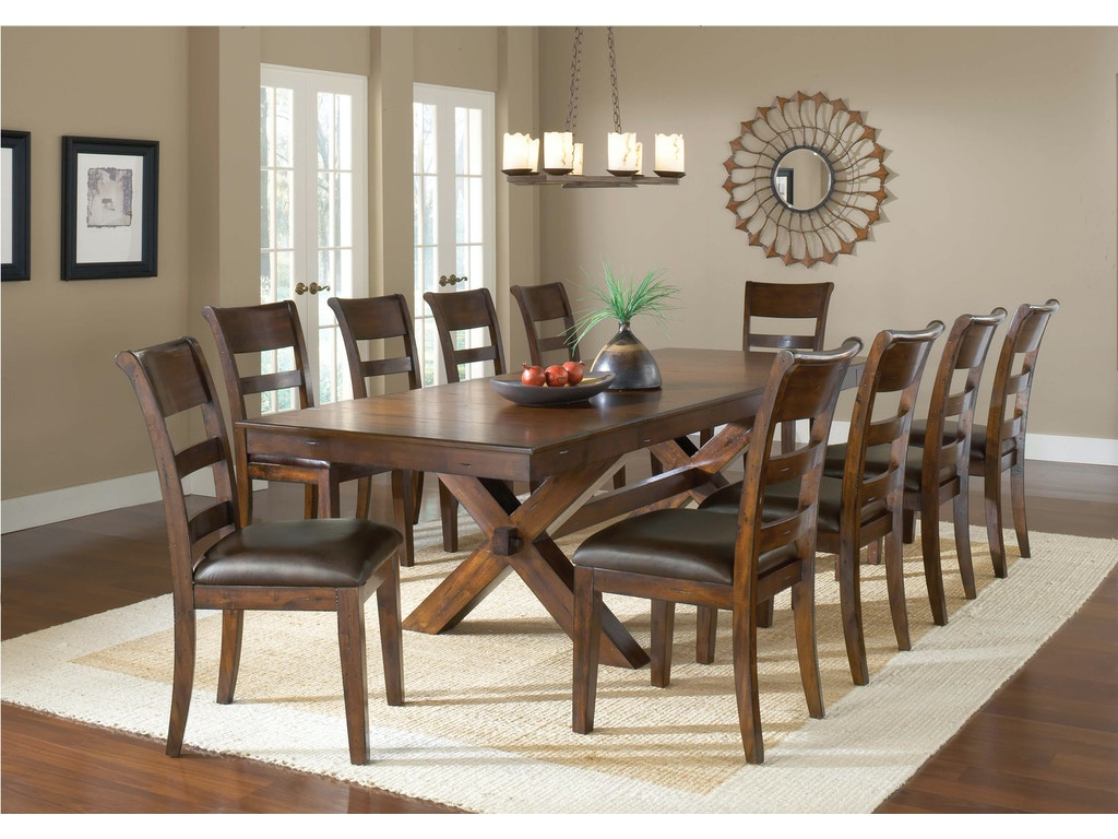 11 Piece Dining Room Set Hillsdale Furniture Dining Room Park Avenue 11 Piece Dining Set