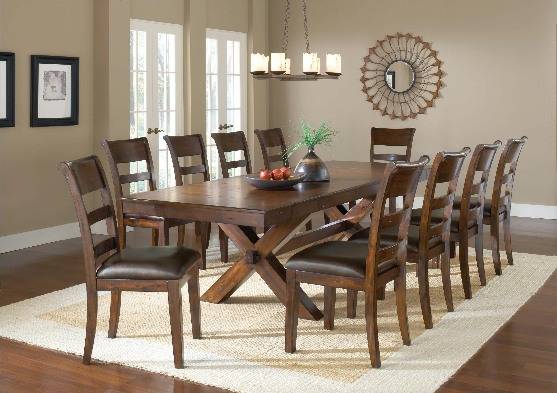 Captivating Hillsdale Furniture Park Avenue 11 Piece Dining Set 4692DTBC11 ...