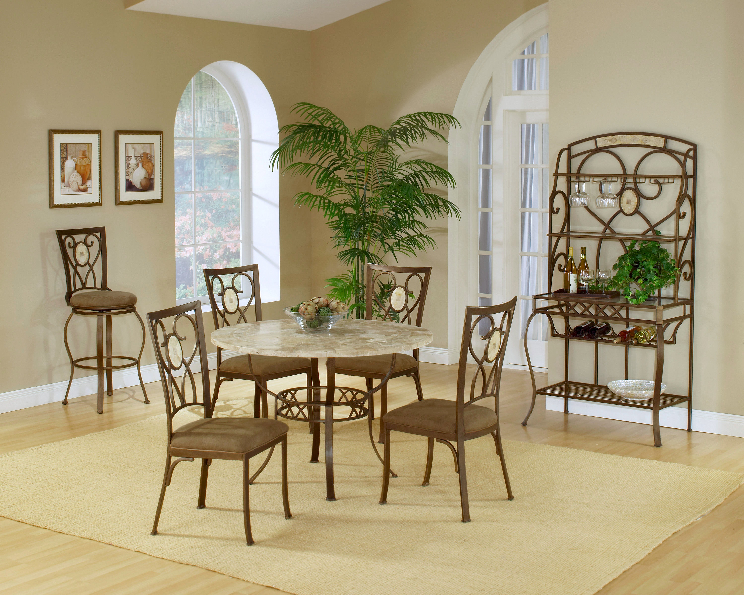 Good Hillsdale Furniture Brookside Round Table 4815DTRNB