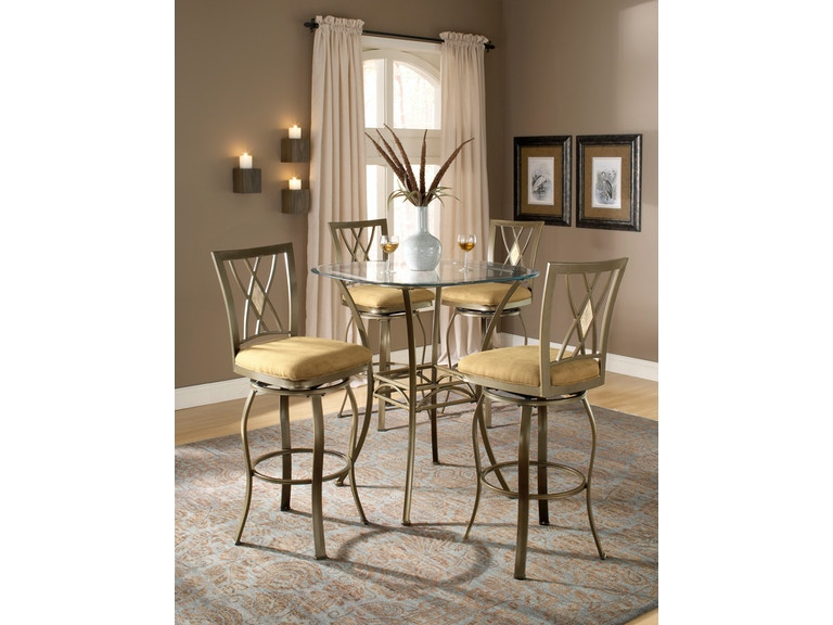 Hillsdale Furniture Bar And Game Room Brookside Height Bistro Table