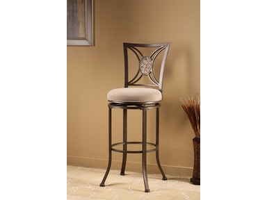 Hillsdale Furniture Rowan Swivel Bar Stool 4897-830