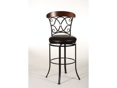 Hillsdale Furniture Dundee Swivel Counter Stool 5026-826