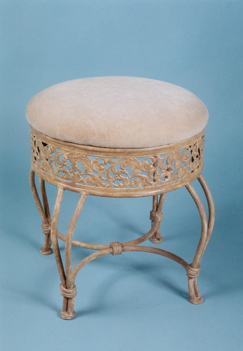 Hillsdale Furniture Bedroom Clover Vanity Stool 50958