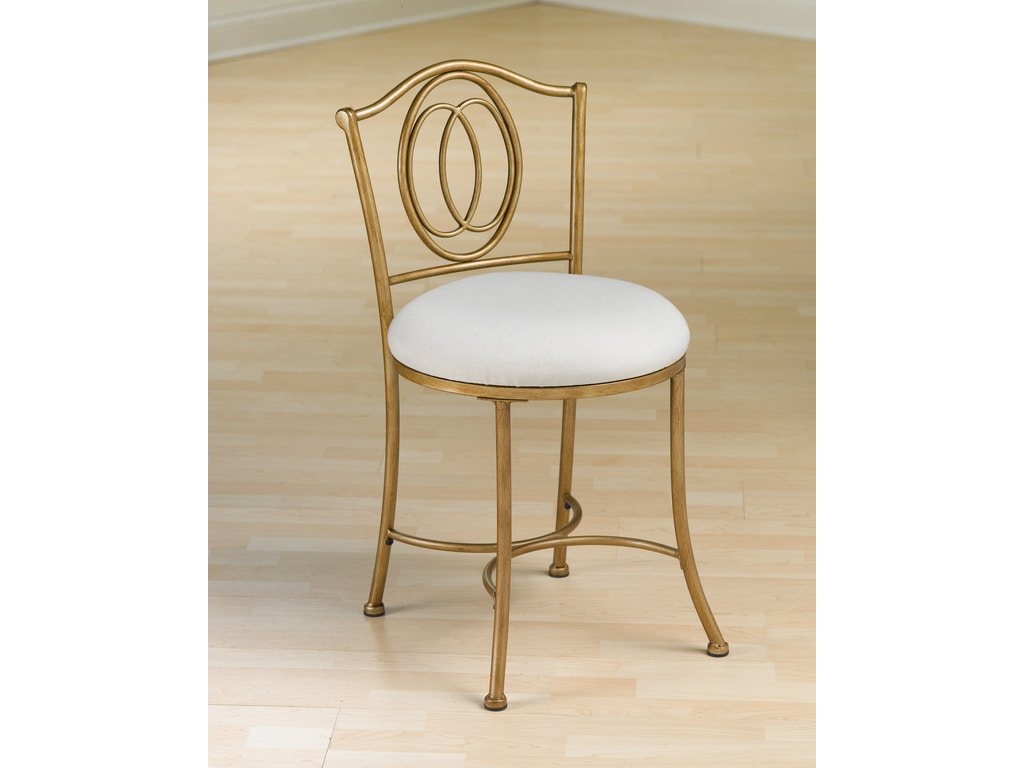 Hillsdale furniture bedroom emerson vanity stool 50945 for Bedroom furniture union nj