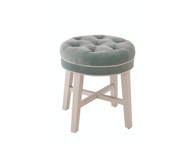 Hillsdale Furniture Sophia Vanity Stool with Spa Fabric 51008
