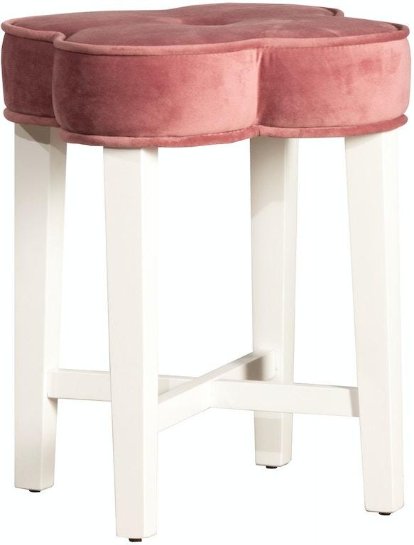 Hillsdale Furniture Bedroom Clover Vanity Stool 51020 ...