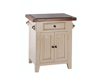 Hillsdale Furniture Tuscan Retreat® Granite Top Small Kitchen Island 5465-855W